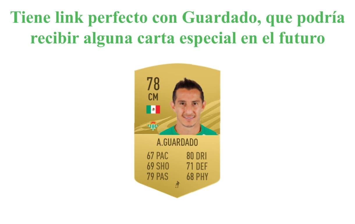 FIFA 21 Ultimate Team Diego Lainez Future Stars link perfecto