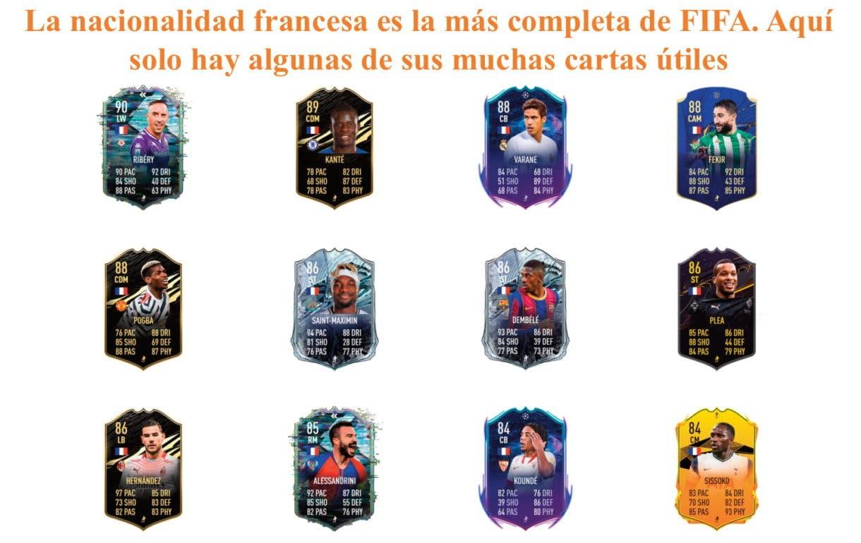 Todibo Future Stars. FIFA 21 Ultimate Team. Links naranjas