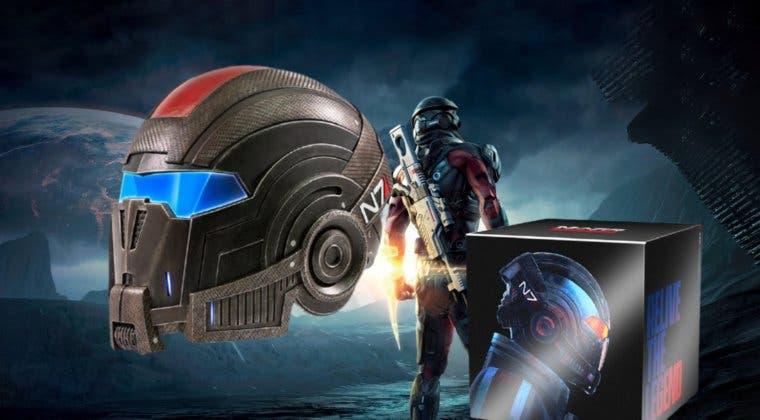 Imagen de Un casco a escala 1:1 y más; así es el pack de Mass Effect que cualquier fan desearía y ya puedes comprar