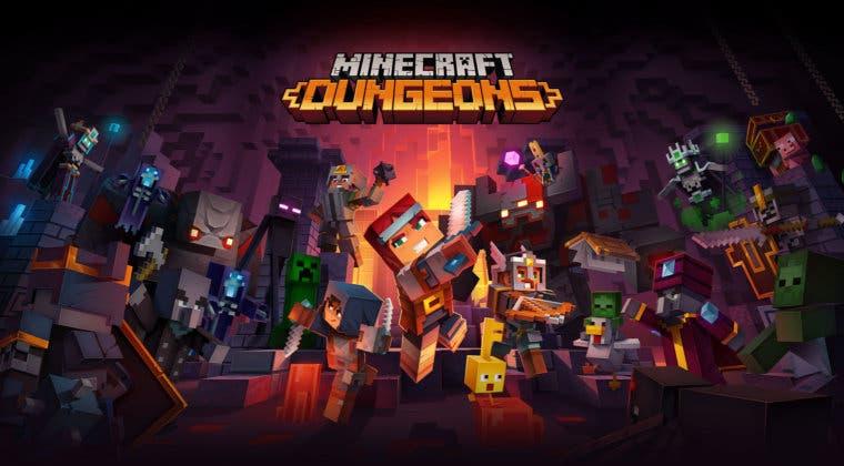 Imagen de Tras menos de un año, Minecraft Dungeons ha superado los 10 millones de jugadores