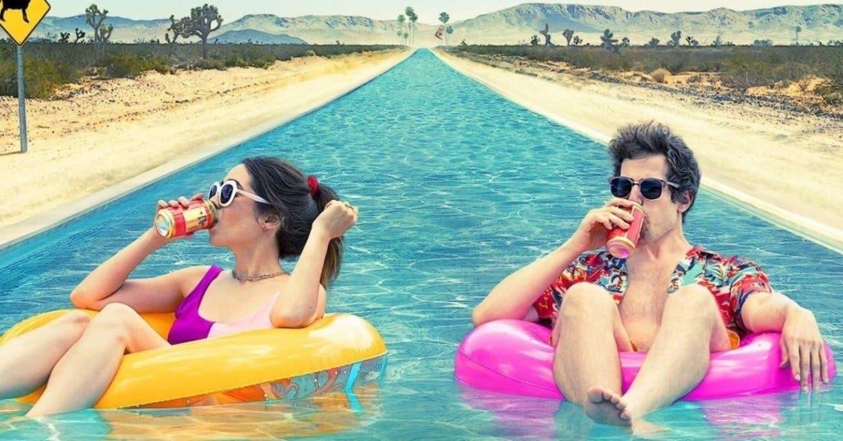 Andy Samberg y Cristin Milioti protagonizan Palm Springs