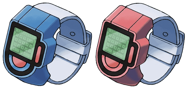 Poke Reloj Pokemon Diamante y Perla