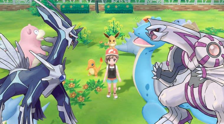 Imagen de El remake de Pokémon Diamante y Perla sería, en realidad, Pokémon Let's Go Sinnoh
