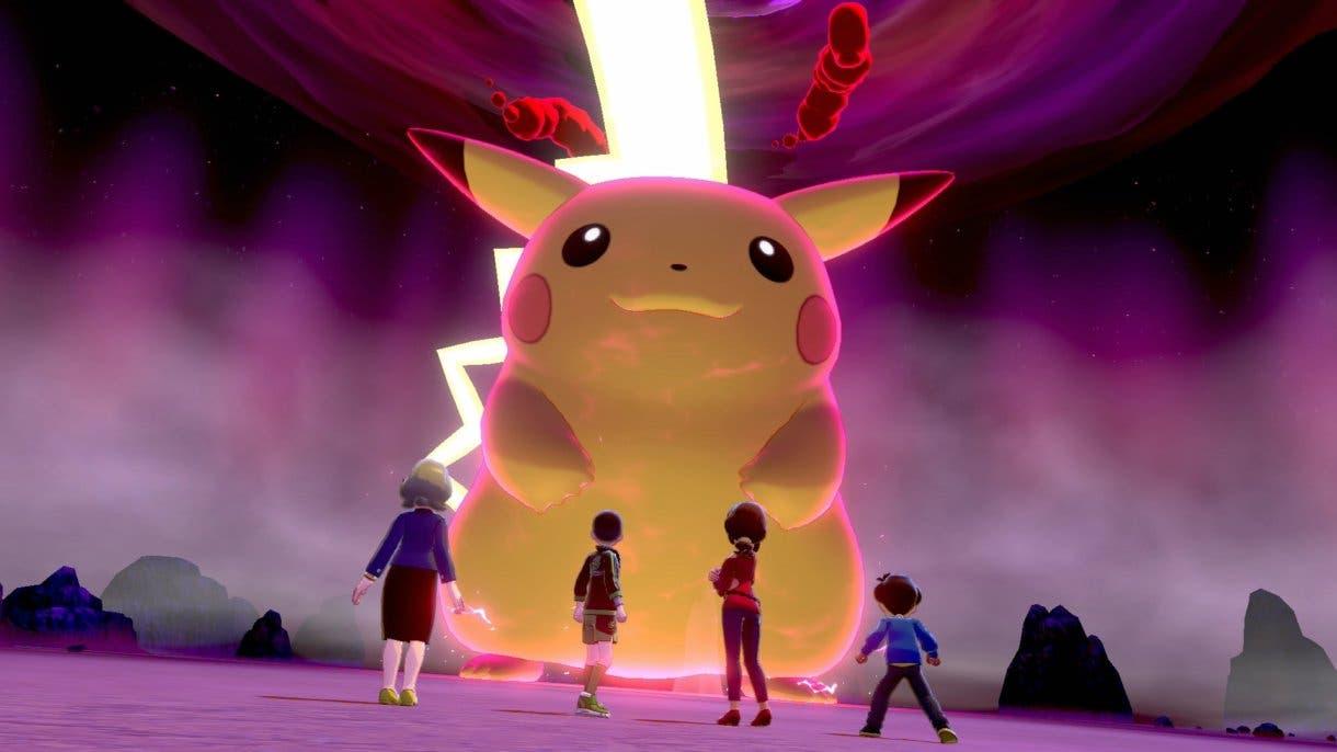 Pokémon Espada y Escudo incursion Pikachu Gigamax