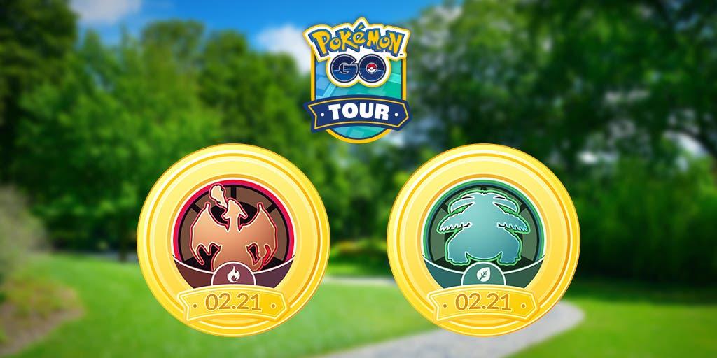 Pokemon GO Tour de Kanto Edicion Roja Verde