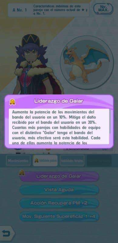 Pokemon Masters EX Lionel habilidades