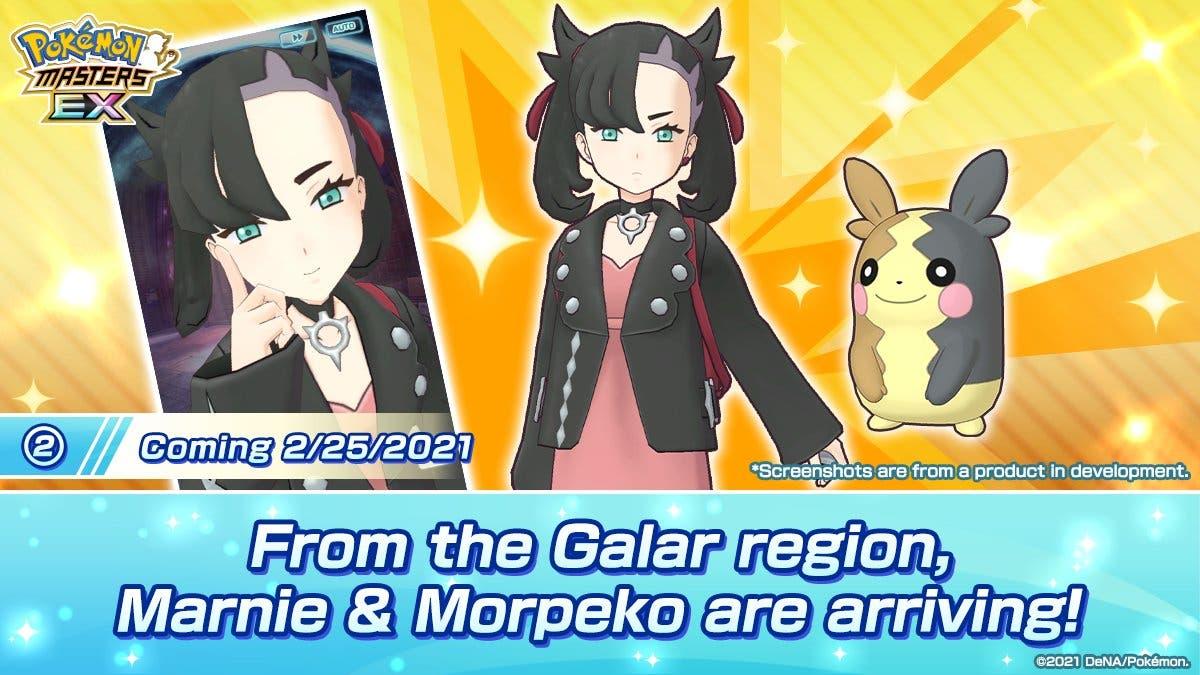 Pokemon Masters EX Roxy y Morpeko