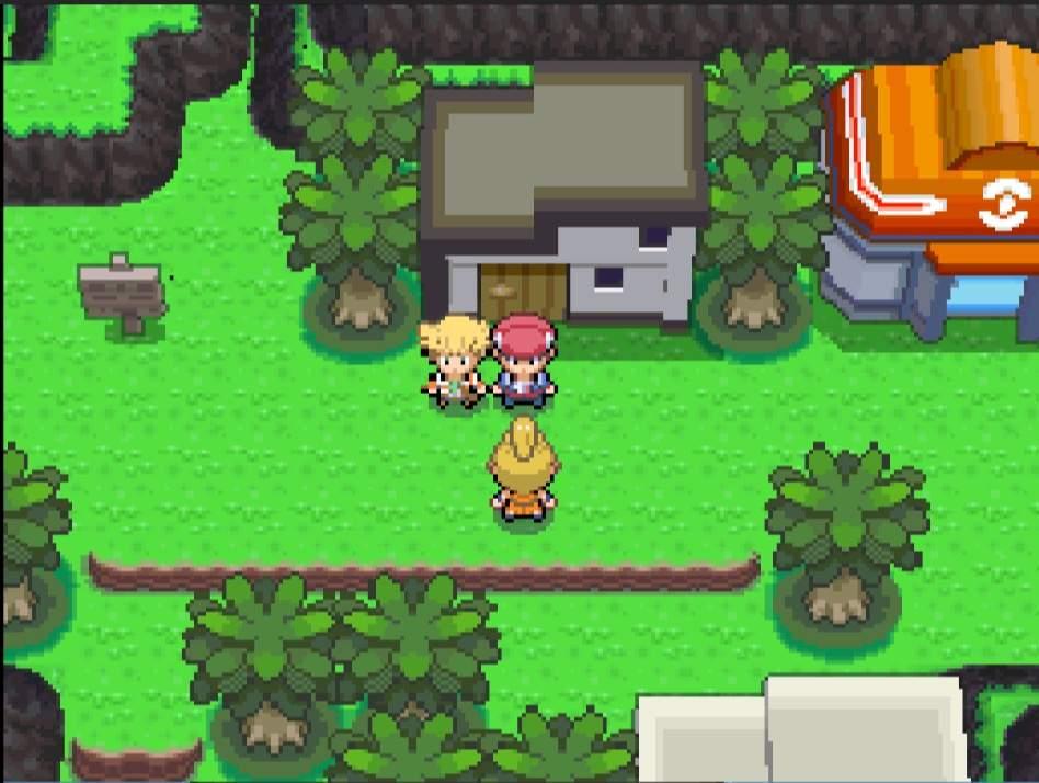 Pokemon Platino ingame