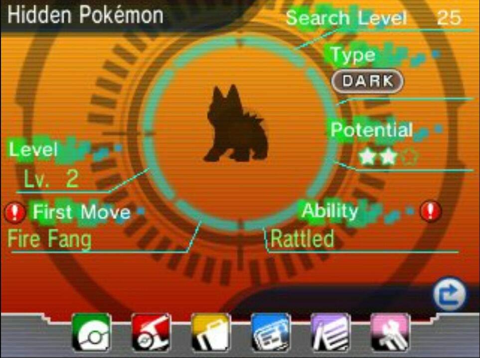 Pokemon Rubi Omega Zafiro Alfa DexNav