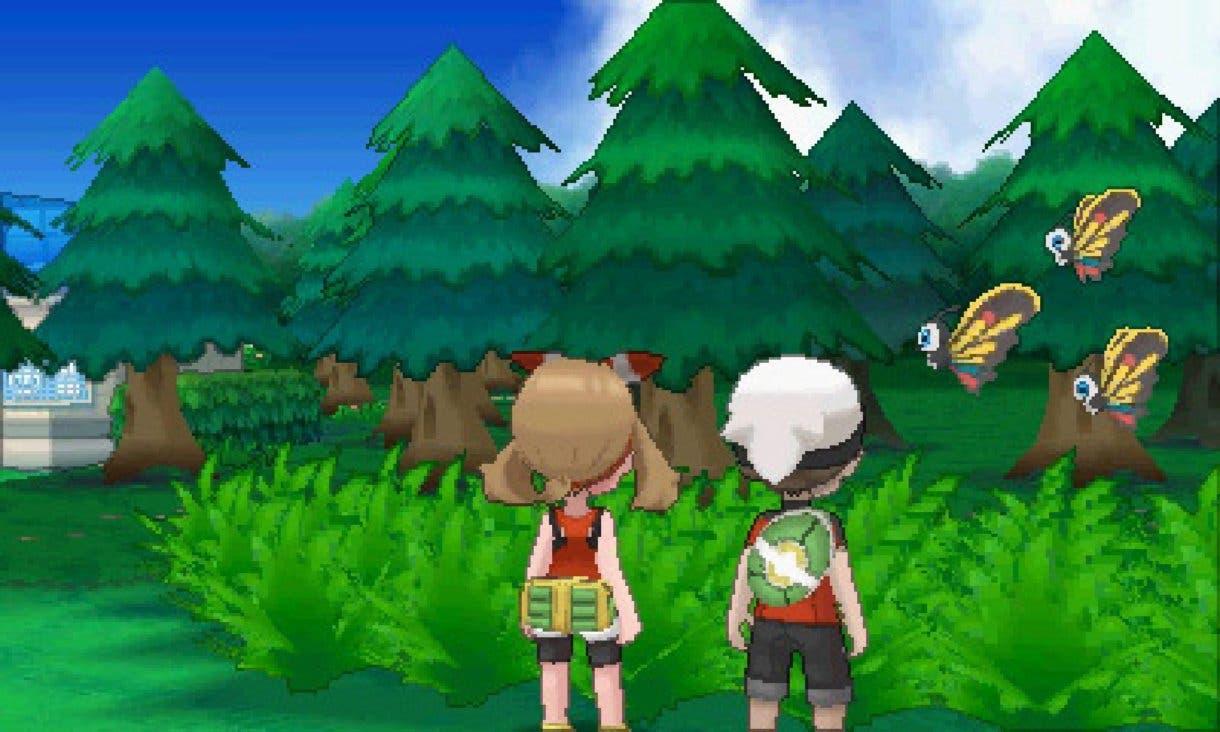 Pokemon Rubi Omega Zafiro Alfa ingame