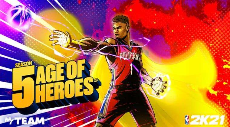 Imagen de NBA 2K21: estas son las novedades y recompensas gratuitas de Era de Héroes, la temporada 5 de Mi EQUIPO