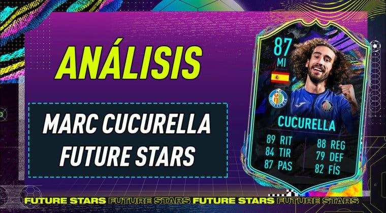 Imagen de FIFA 21: análisis de Marc Cucurella Future Stars, la nueva carta gratuita