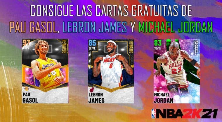 Imagen de NBA 2K21 MyTEAM: consigue las cartas gratuitas de Pau Gasol, LeBron James y Michael Jordan