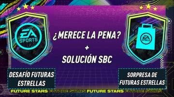"""Imagen de FIFA 21: ¿Merecen la pena los SBC's """"Desafío futuras estrellas"""" y """"Sorpresa de Futuras estrellas"""" 15-02-2021?"""