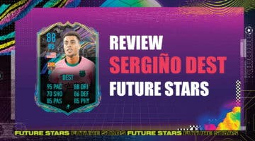 Imagen de FIFA 21: review de Sergiño Dest Future Stars. ¿Justifica su precio?