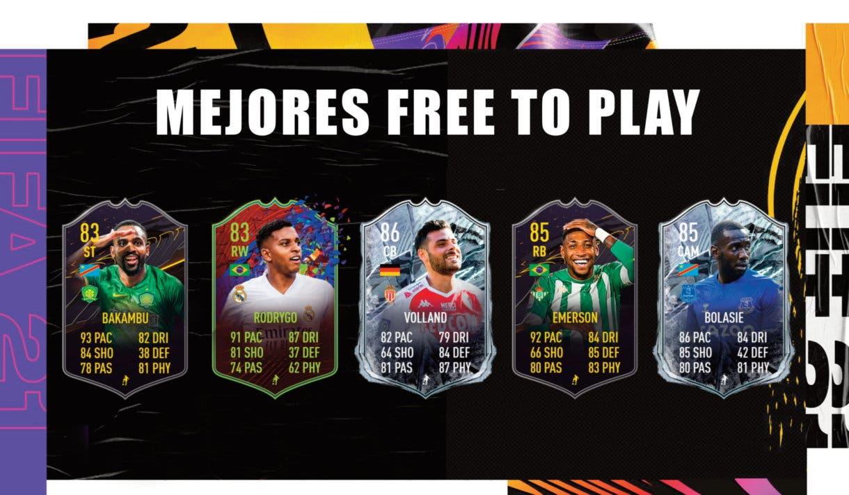 FIFA 21 Ultimate Team mejores cartas free to play. Top diez gratuitas