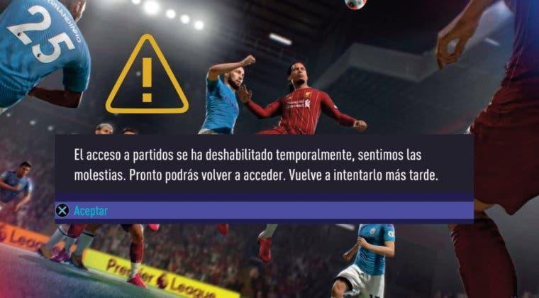 Imagen de FIFA 21: no podremos jugar partidos de Ultimate Team temporalmente por problemas de conexión