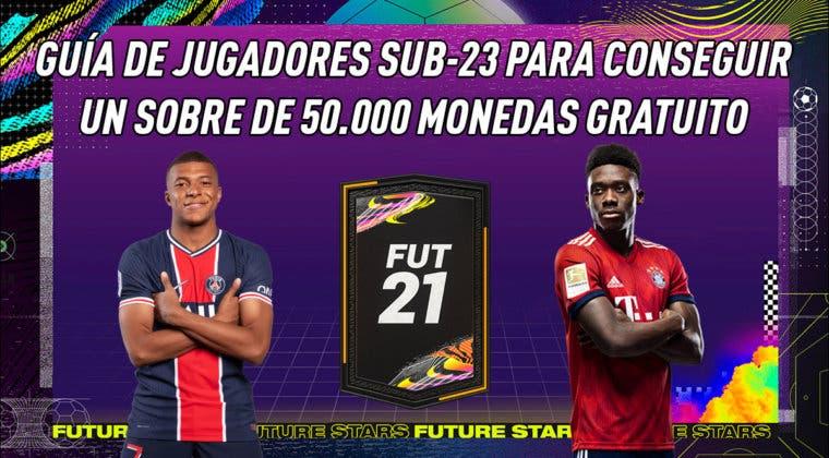 Imagen de FIFA 21: guía de jugadores sub-23 para conseguir el nuevo sobre gratuito de 50.000 monedas