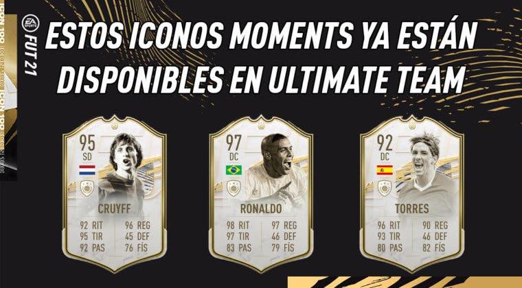 Imagen de FIFA 21: estos Iconos Moments ya están disponibles en Ultimate Team (mira aquí sus medias y stats)