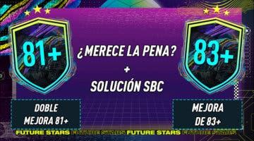 """Imagen de FIFA 21: ¿Merecen la pena los SBC's """"Doble mejora 81+"""" y """"Mejora de 83+""""?"""