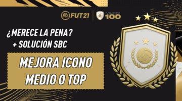 """Imagen de FIFA 21: ¿Merece la pena el SBC """"Mejora de Icono Medio o TOP""""? (21-02-2021)"""