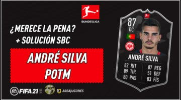 Imagen de FIFA 21: ¿Merece la pena André Silva POTM de la Bundesliga? + Solución del SBC