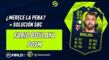 Imagen de FIFA 21: ¿Merece la pena Farid Boulaya POTM? + Solución del SBC