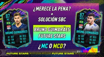 Imagen de FIFA 21: ¿Merece la pena Bruno Guimaraes Future Stars? ¿Qué versión elijo? + Solución del SBC