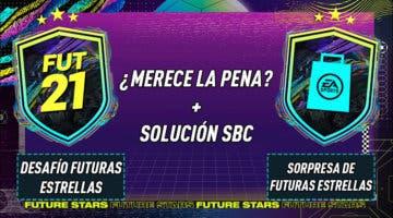 """Imagen de FIFA 21: ¿Merecen la pena los SBC's """"Desafío futuras estrellas"""" y """"Sorpresa de Futuras estrellas"""" 18-02-2021?"""