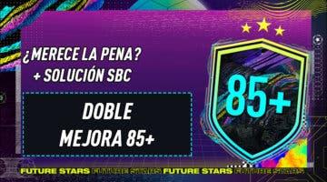 """Imagen de FIFA 21: ¿Merece la pena el SBC """"Doble mejora 85+""""? 10-02-2021"""