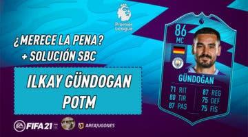 Imagen de FIFA 21: ¿Merece la pena Ilkay Gündogan POTM de la Premier League? + Solución del SBC