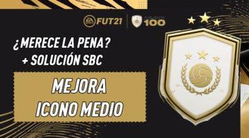 """Imagen de FIFA 21: ¿Merece la pena el SBC """"Mejora de Icono Medio""""? (11-02-2021)"""