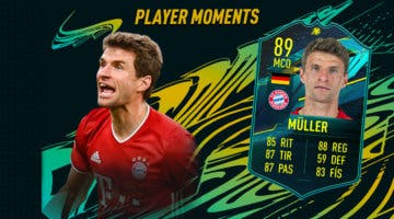 Imagen de FIFA 21: ¿Merece la pena Thomas Müller Moments? + Solución del SBC