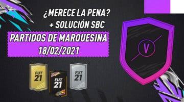 """Imagen de FIFA 21: ¿Merece la pena el SBC """"Partidos de marquesina""""? (18/02/2021)"""