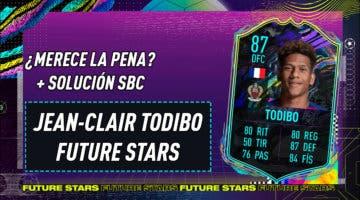 Imagen de FIFA 21: ¿Merece la pena Todibo Future Stars? + Solución del SBC