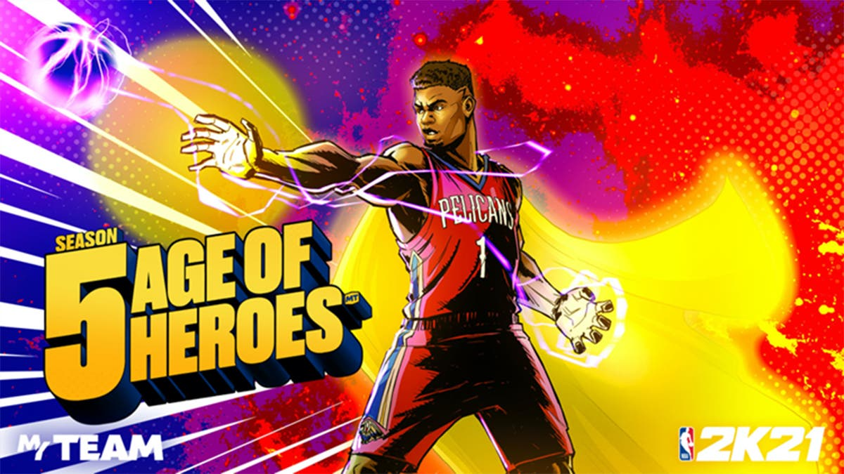NBA 2K21 Mi EQUIPO MyTEAM Temporada 5 Era de Héroes