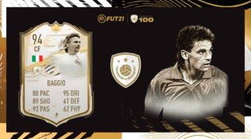 Imagen de FIFA 21 Icon Swaps: análisis de Baggio Moments. ¿Merece la pena esperar para conseguirlo?