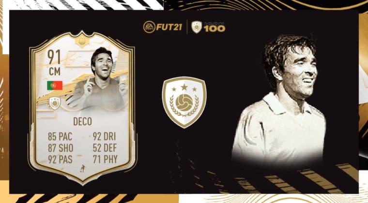 Imagen de FIFA 21 Icon Swaps: análisis de Deco Moments. ¿Es un mediapunta de primer nivel?