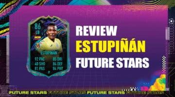 Imagen de FIFA 21: review de Estupiñán Future Stars. ¿Más interesante que Mendy y Acuña Showdown?