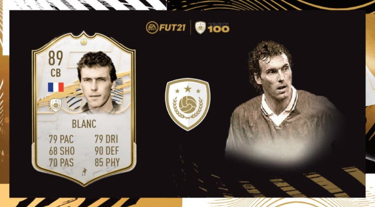 Imagen de FIFA 21 Icon Swaps: ¿Merece la pena Laurent Blanc Medio? Review del Icono