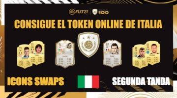 Imagen de FIFA 21 Icon Swaps: plantilla + revulsivos asequibles y  útiles para obtener el token online de Italia