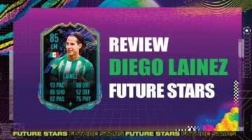 Imagen de FIFA 21: review de Diego Lainez Future Stars. ¿El mejor extremo izquierdo de la Liga Santander?