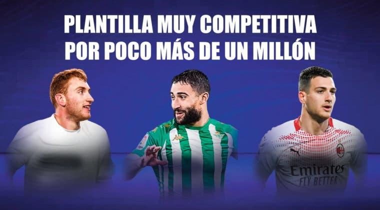 Imagen de FIFA 21: plantilla muy competitiva, para FUT Champions y Division Rivals, que cuesta poco más de un millón de monedas