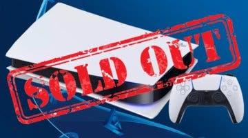Imagen de Las ventas de PS5 caen por la falta de stock de la consola