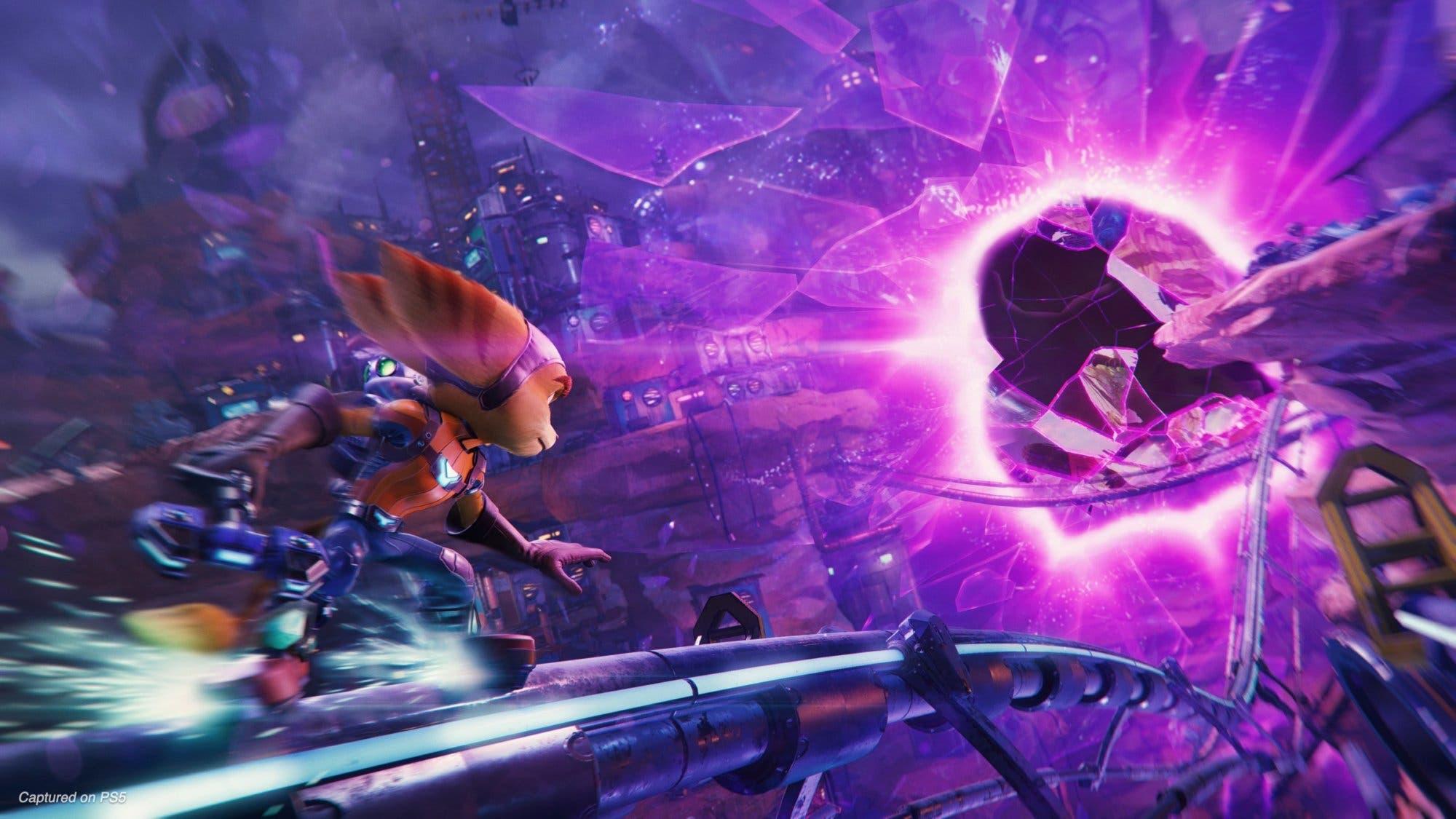 Resultado de imagen de Ratchet & Clank: Una Dimensión Aparte