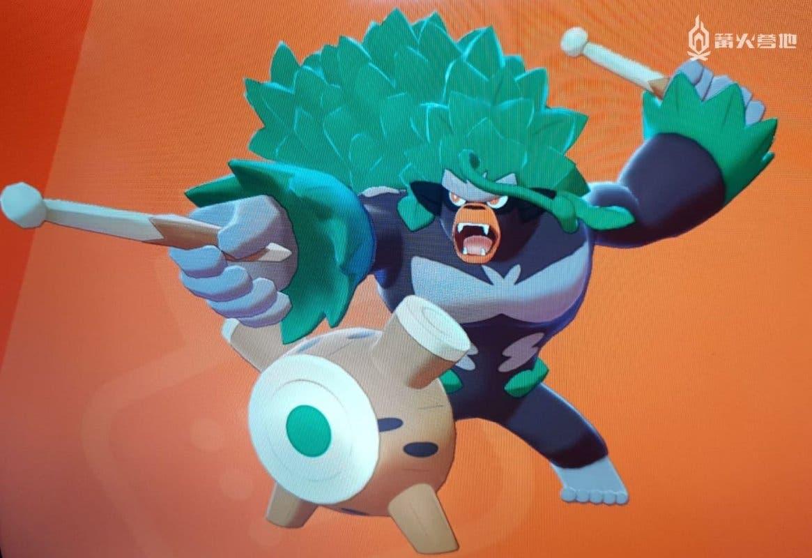 Rillaboom Pokemon inicial