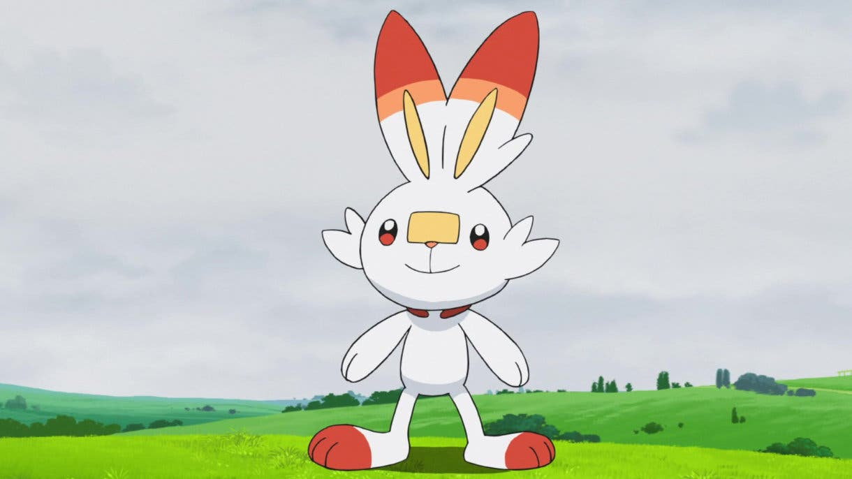 Scorbunny Pokemon inicial
