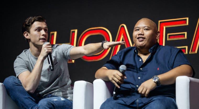 Imagen de Tom Holland y Jacob Batalon trolean a los fans anunciando títulos diferentes para Spider-Man 3