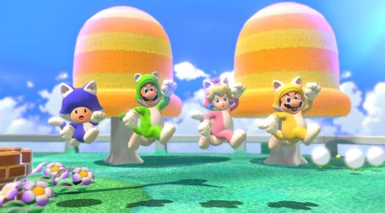 Imagen de Super Mario 3D World + Bowser's Fury luce su modo cooperativo en 9 minutos nuevos de gameplay