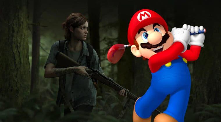 Imagen de La relación entre el nuevo Mario Golf y The Last of Us 2 que se ha convertido en meme